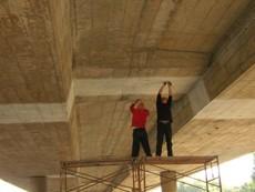 廣州番禺魚窩頭跨線橋伸縮縫更換維修加固工程