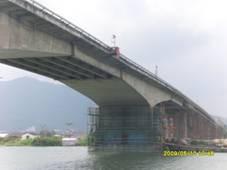 [橋梁結構加固]新會區省道S270虎坑大橋橋梁加固工程