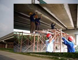 [橋梁結構加固]廣清高速公路橋高架橋加固維修工程
