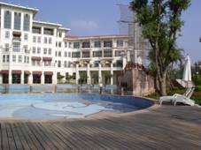 [基礎加固]夏灣拿酒店游泳池地基基礎加固工程