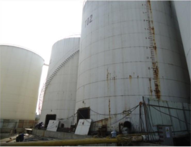 [基礎加固]欽州大洋糧油油罐基礎加固與罐體糾偏工程實例