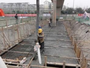 成錦樂路工程隧道樁基托換工程